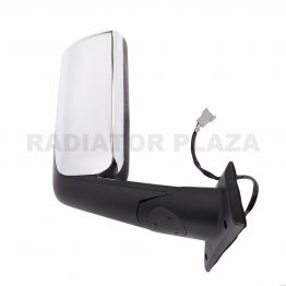 Chrome Rear View Right Passenger Side Mirror For 18 19 20+ Freightliner Cascadia