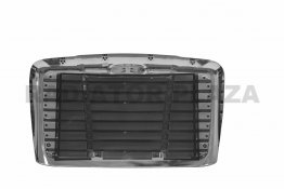 Triple Plated Chrome Grille+Bug Screen For 2008-2017 Freightliner Cascadia 113 125