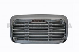 Chrome Grille+Steel Bug Screen Assembly For 2000-2014 Freightliner Columbia 112 120