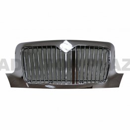 Front Chrome Grille For 02-18 International 4100 4200 4300 4400 8500 Durastar