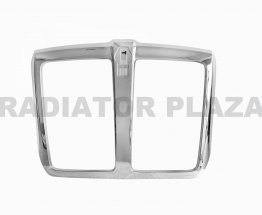 Front Chrome Grille Frame Surround Replacement For 13-18 Kenworth T680 New