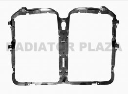 Front Chrome Grille Bug Screen Frame Replacement For 13-18 Kenworth T680 New